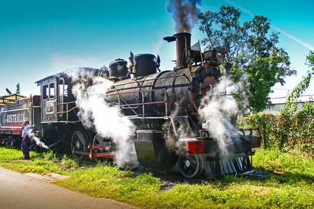 Old train Cuba