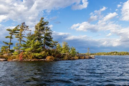 rugged beauty of autumn on the great lakes