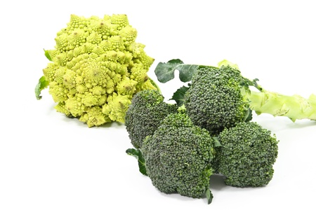 Two different types of broccoli complement eachother.