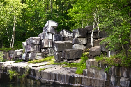 In Dorset, Vermont,  is the oldest marble quarry in the U S , operational from 1785 to 1917