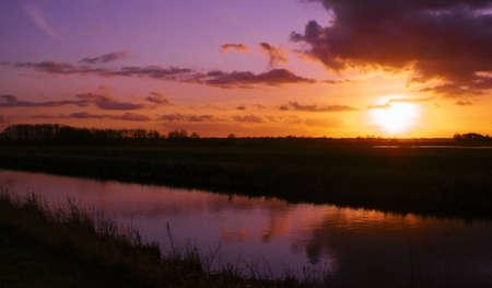 Sunset at Eastern Frisia