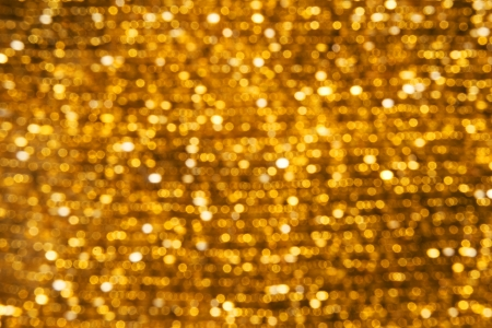 Background Abstract Lights Bokeh Golden Stock Photo