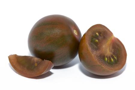 Close Up Of Fresh Kumato Tomatoes