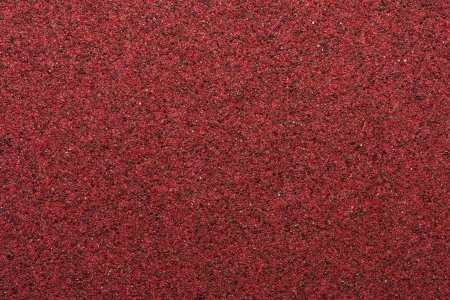 Macro Red Sandpaper Stock Photo