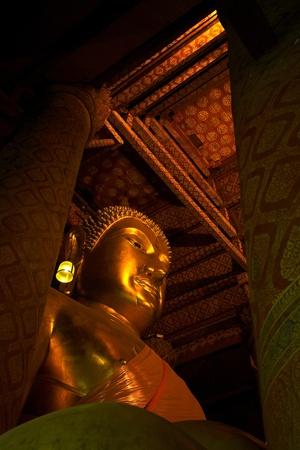 ayuthaya: big buddha at Ayuthaya Stock Photo