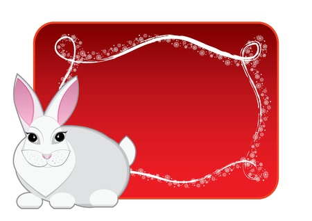 New year rabbit