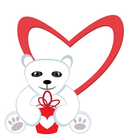 Present for Valentine Stock Vector - 9832012