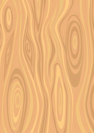 Light wooden texture Vector