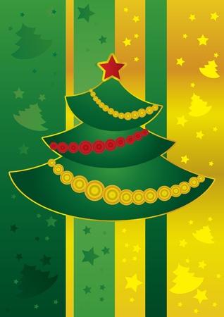 New Year tree Illustration