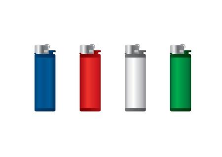 Set of lighters