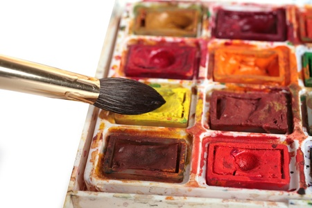 Watercolour Stock Photo