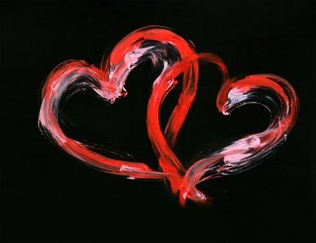 Couple of hearts Stock Photo - 10009439