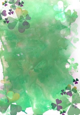 Shamrock background