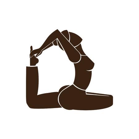stretching: Pigeon