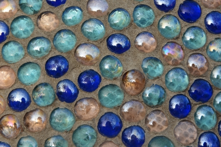 Background made of colorful glass stones