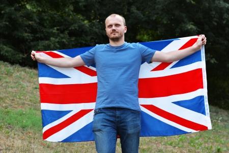 Move to Britain  Stock Photo
