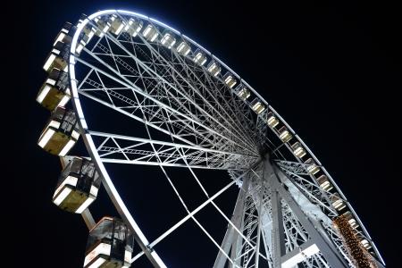 Wheel in Winter Wonderland, London, Great Britain