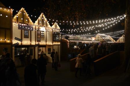 Winter Wonderland, Christmas fair in London, Great Britain Editorial