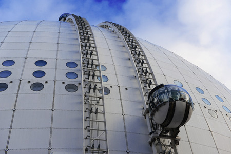 Sky View - a popular tourist entertainment attraction in Stockholm