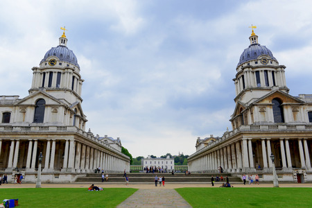 MAY, 2014 - LONDON, UK: The Old Royal Naval College Editorial