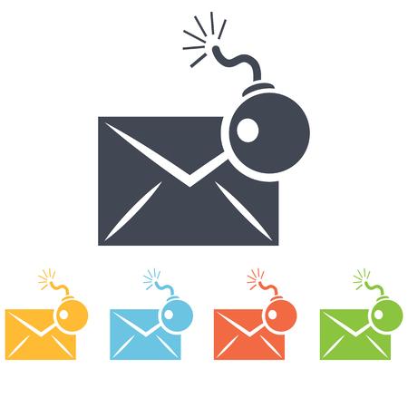 correspondence: Hacking correspondence icon