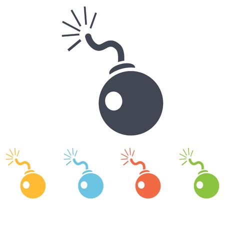 bomb: Bomb icon Illustration