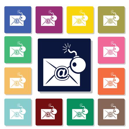 burglary: Hacking correspondence icon