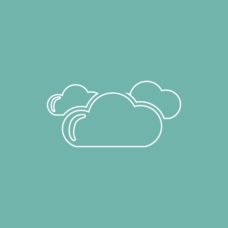 cloudy: Cloudy weather icon