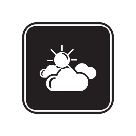cloudy: Partly cloudy weather icon