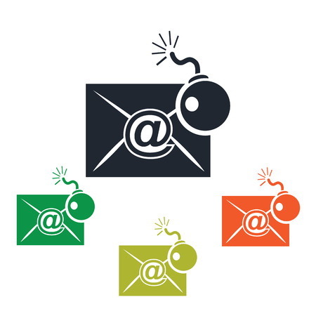 Hacking correspondence icon