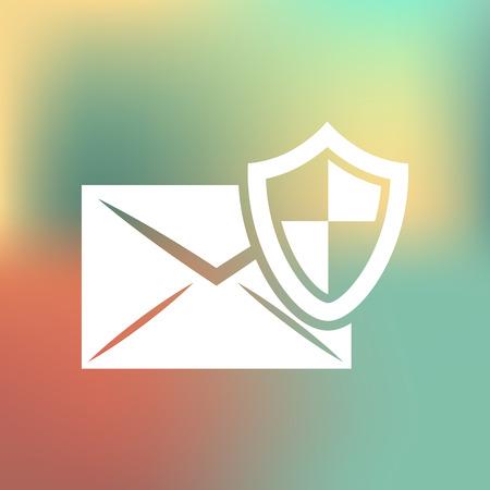 correspondence: Protección de la correspondencia icono