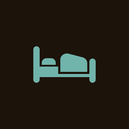 overseas: Bed icon