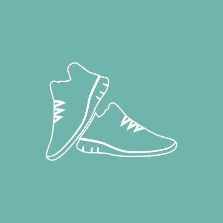 the pair: Sneakers pair icon
