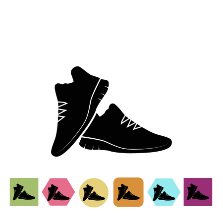 sneakers: Sneakers pair icon