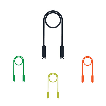 skipping rope: Skipping rope icon