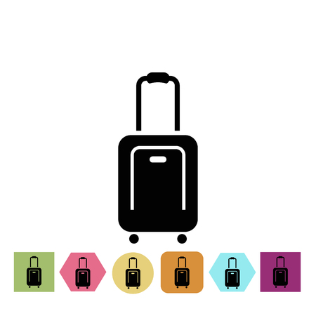 Suitcase icon Vettoriali