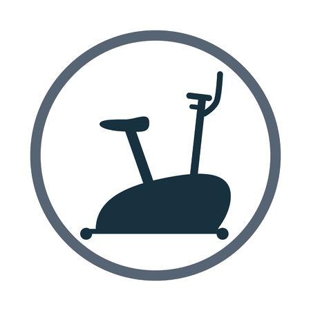 exercise bike: Exercise bike icon