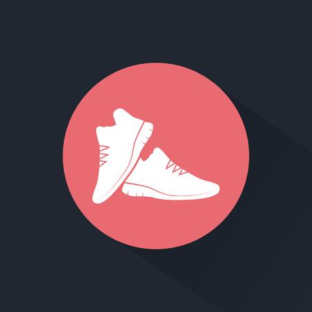 comfort: Sneakers pair icon