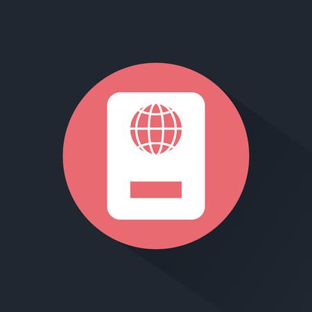 overseas: Passport icon