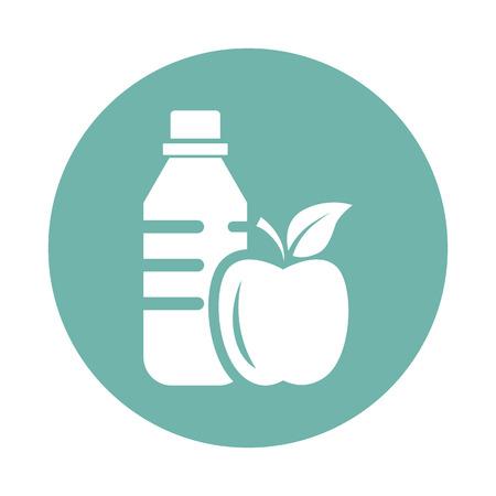 useful: Drink and useful food icon Illustration
