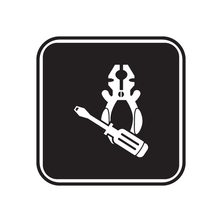 unscrew: Screwdriver and plier icon