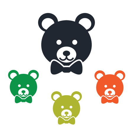 distract: Toy bear icon