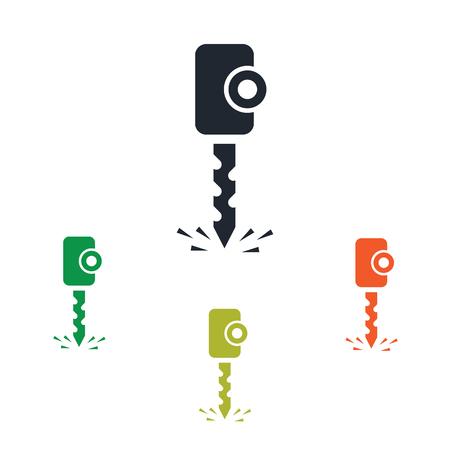 cuttings: Drill icon Illustration