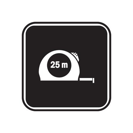 unscrew: Construction tape icon