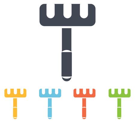 rakes: Agriculture rakes icon