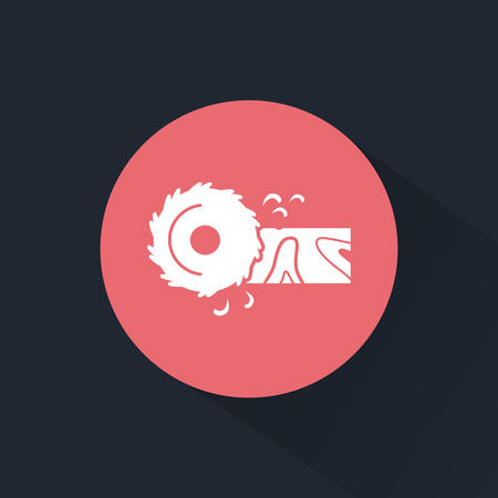 circular saw: Circular saw icon