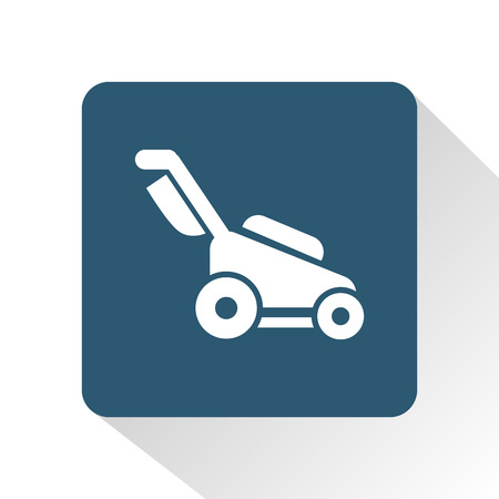 mower: lawn mower icon