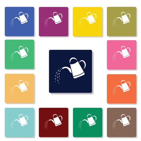 watering can: Watering can icon Illustration