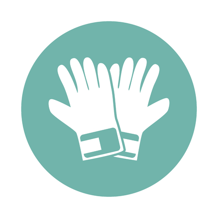 a pair: Pair of gloves icon Illustration