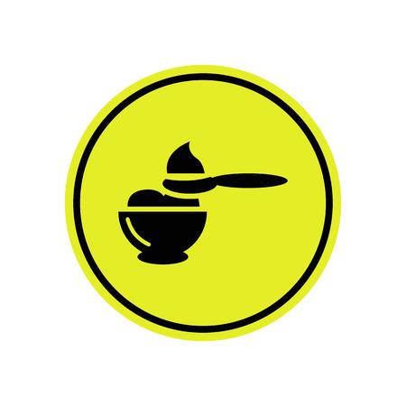 food: Baby food icon Illustration